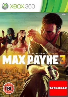 Max Payne 3 X360 USED_product