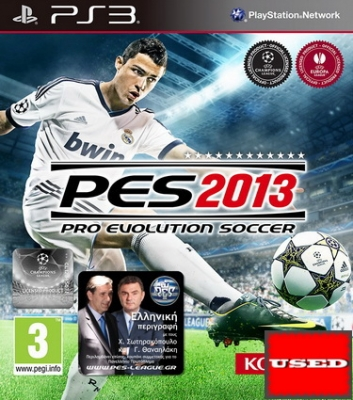 Pro Evolution Soccer 2013 (Ελληνικό) PS3 USED_product