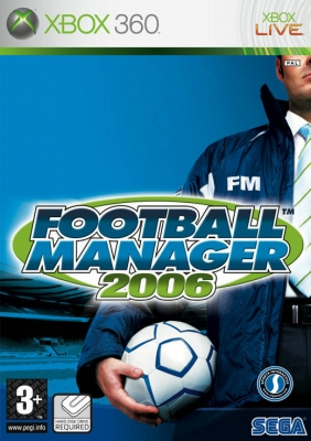 Football Manager 2006 X360 NEW