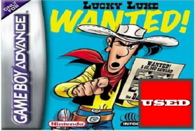 Lucky Luke: Wanted! GBA USED