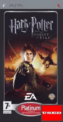 Harry Potter and the Goblet of Fire (Platinum) PSP USED