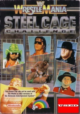 WWF Wrestlemania: Steel Cage Challenge NES USED_product