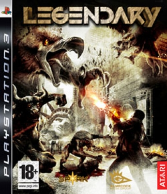 Legendary PS3 NEW
